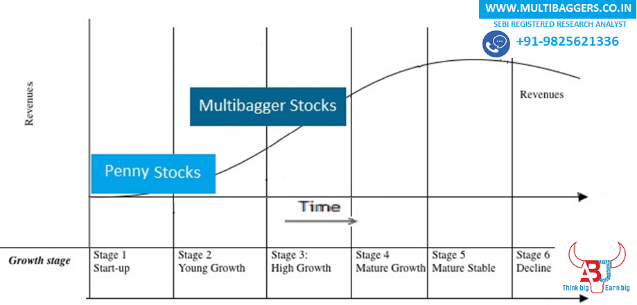 Difference Multibagger and Penny stocks